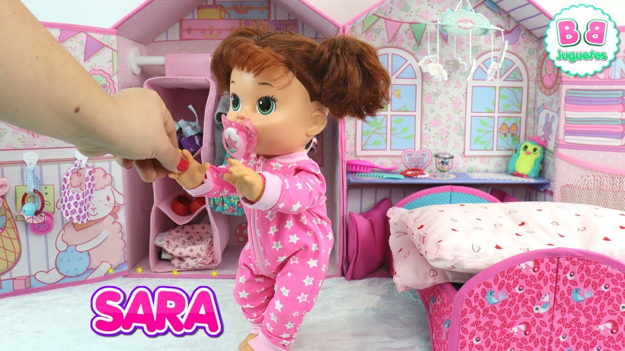 Mu 241 Eca Baby Alive Sara En Su Rutina De Ma 241 Ana Bb Juguetes
