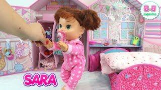Muñeca Baby Alive Sara en su Rutina de Mañana BB Juguetes
