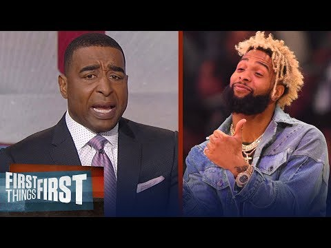Cris Carter's message to Odell Beckham Jr: I'm so disappointed, grow up   FIRST THINGS FIRST