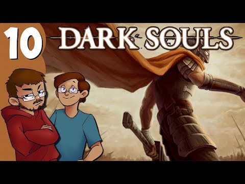 Let's Play | Dark Souls - Part 10 - Capra Demon and Invasions