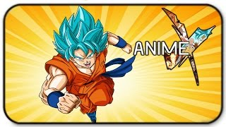 Roblox Anime Cross - Goku Gameplay - I Am A Super Saiyan God