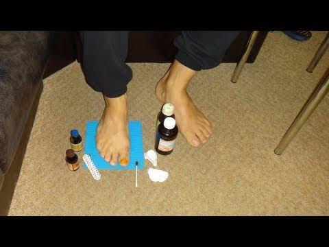 Сильнейшее средство от грибка ногтей . Онихомикоз. Вылечить Грибок на ногтях ног и рук