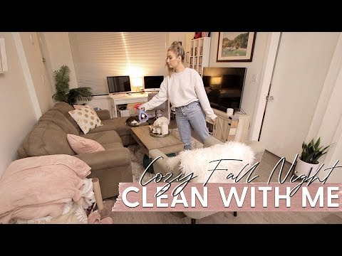 CLEANING MOTIVATION: All Day Clean with Me  *Cozy Fall Vibes!*