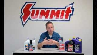 Synthetic Oil vs. Conventional Oil - Summit Racing Quick Flicks