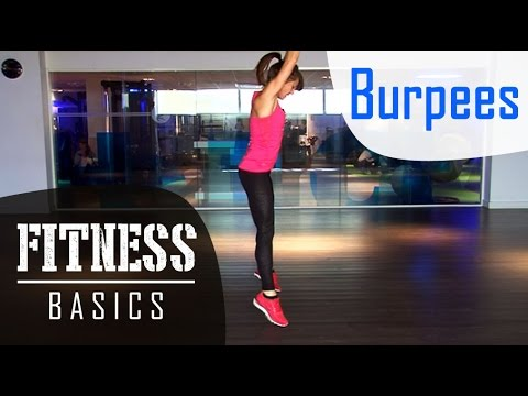 Comment faire des Burpees - Les Fitness Basics