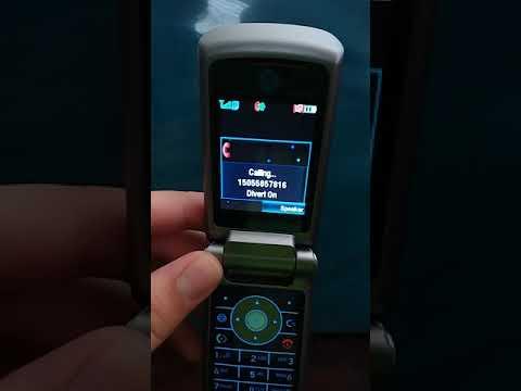 Motorola Krzr K1 Dialing
