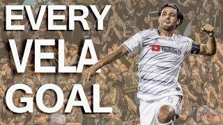 Carlos Vela's record-breaking 34 regular season goals for LAFC | MLS Highlights