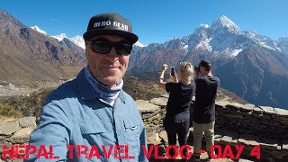 Nepal Travel Vlog Day 4  - Namche to Kunde Peak 4253M to see Mt Everest (BEST DAY EVER!!)