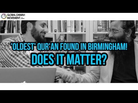 'Oldest' Quran found in Birmingham! Does it matter? GDM Show