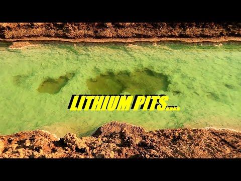 EXPLORING THE LITHIUM PITS / SILVER PEAK NEVADA