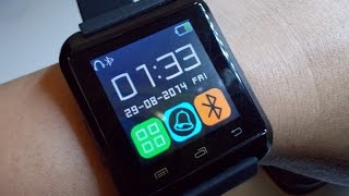 review การใช งาน u watch u8 with android phone