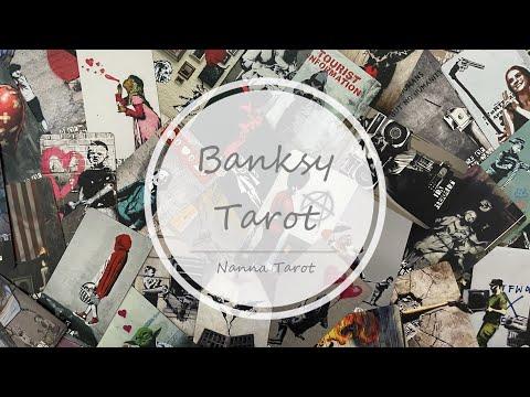開箱  街頭藝術塔羅牌 • Banksy Tarot // Nanna Tarot