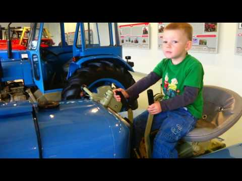 Muzeum traktorů Zetor 70.let