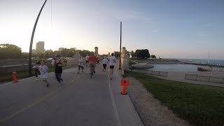 2015 Bastille Day Run, Chicago IL, 8k start and 5k full course in 1080HD with GoPro Mp3