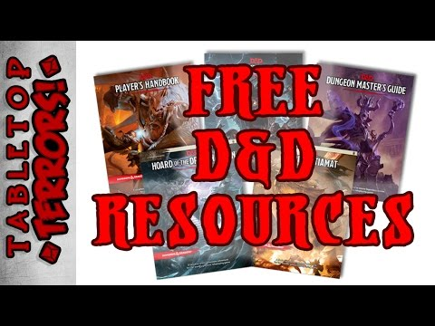 Getting Started In 5Th Edition D&D - Free (In Less Then 5