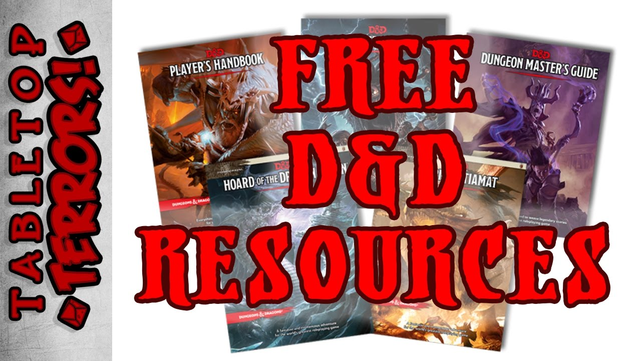 Getting Started in 5th Edition D&D - FREE (In Less then 5 Minutes)