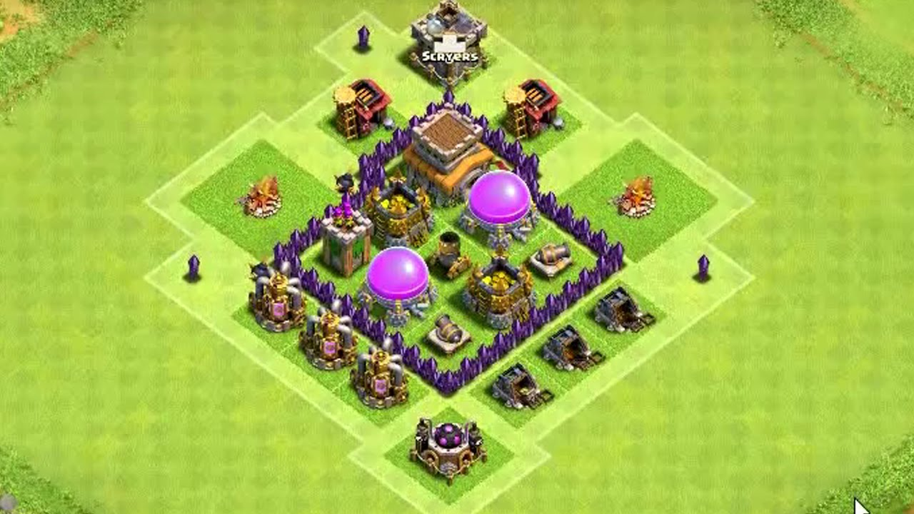 Clash Of Clans Town Hall  Build