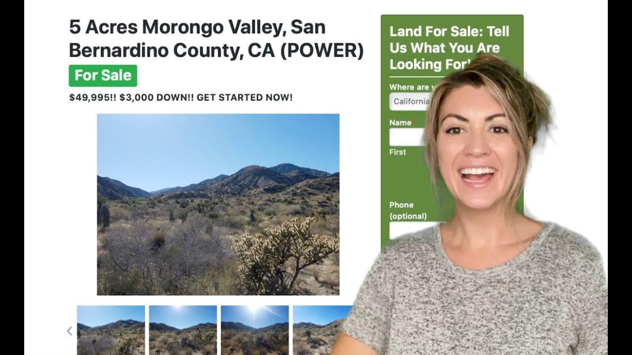 5 Acres Morongo Valley Property (with POWER) in San Bernardino County, CA