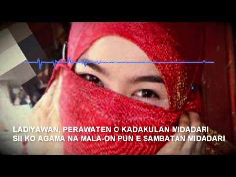 MIDADARI - Official Lyric Video ( Bangsamoro Family & Hayate Trio )