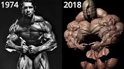 The History of Bodybuilding in One Video