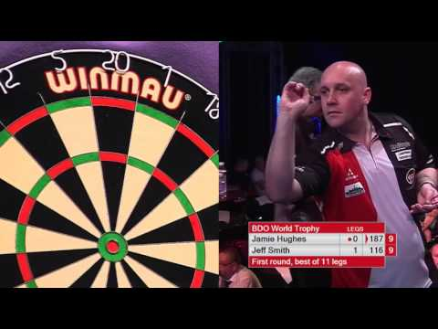 (DO NOT PUBLISH UNTIL 1/6/18) Darts World Trophy 2017 Round 1 Smith v Hughes