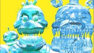 ЧТО БУДЕТ ЕСЛИ ЗАМОРОЗИТЬ АНИМАТРОНИКА2 FNAF Майнкрафт в Реальной жизни Видео Для детей Мультик Дети