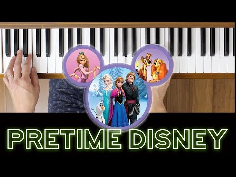 Step in Time {Mary Poppins} (Pretime Piano Disney) [Beginner Piano Tutorial]