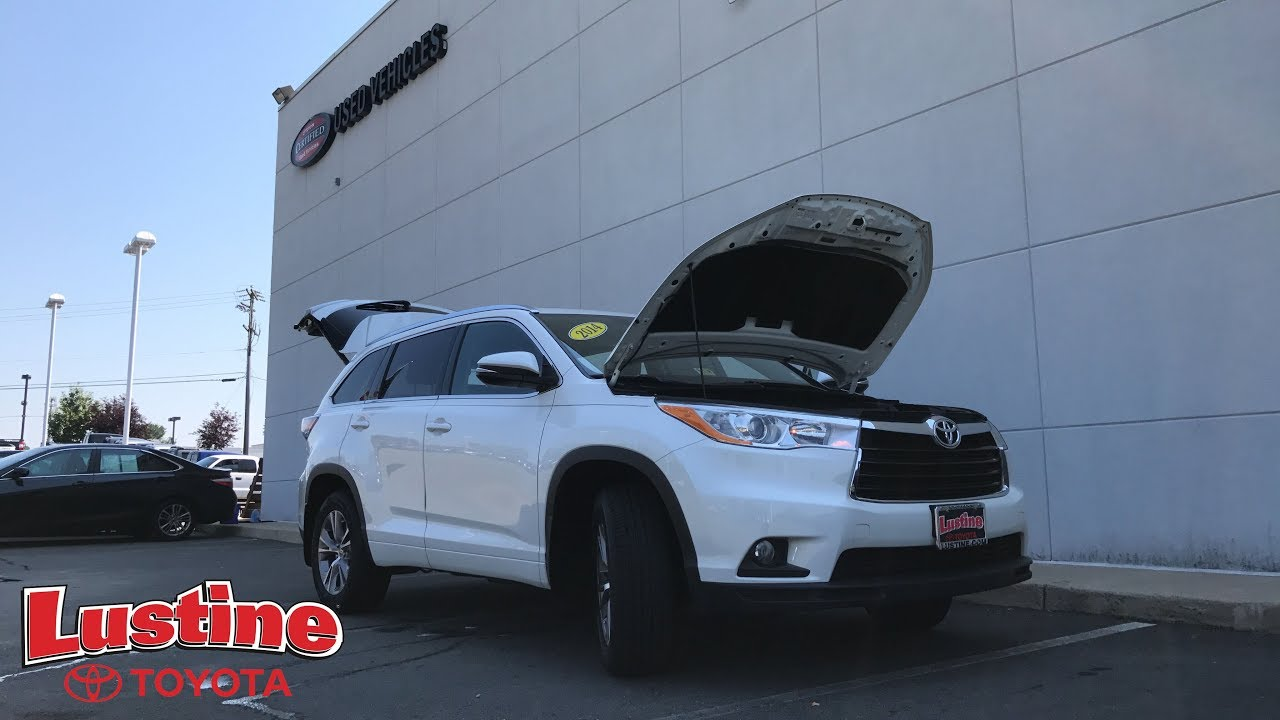 Certified Used 2014 Toyota Highlander XLE   Woodbridge VA. Lustine Toyota