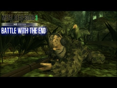 Metal Gear Solid 3 Snake Eater: Battle With The End