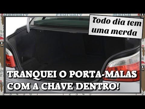 TRANQUEI O PORTA-MALAS COM A CHAVE DENTRO!