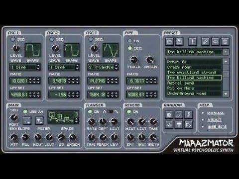 Free VSTi-plugin «Marazmator»