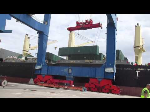 PROJECT CARGO DISCHARGE SUPERVISION SPAIN