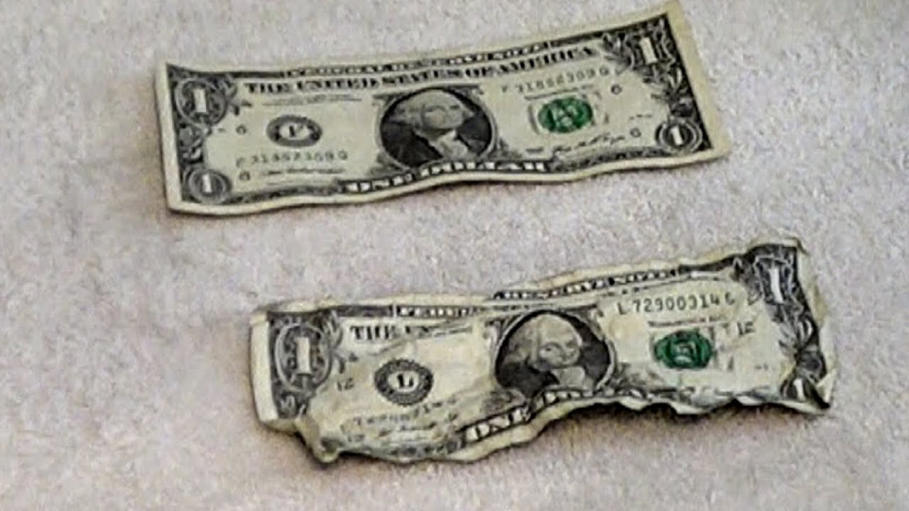 How to Straighten Out a Dollar Bill How to Straighten Out a Dollar Bill new picture