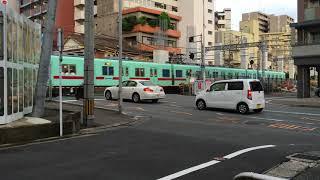 西鉄・天神大牟田線の新駅(T8・名称未定)予定地付近 2018年7月31日