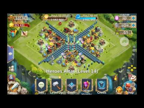 Heavy Blow Beast Tamer Castle Clash