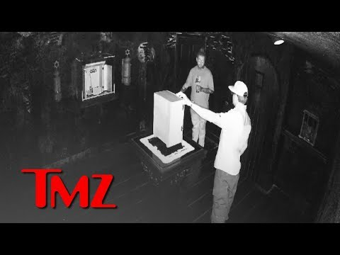 Video of Post Malone Messing with World's Most Haunted Object, Signs of a Curse | TMZ