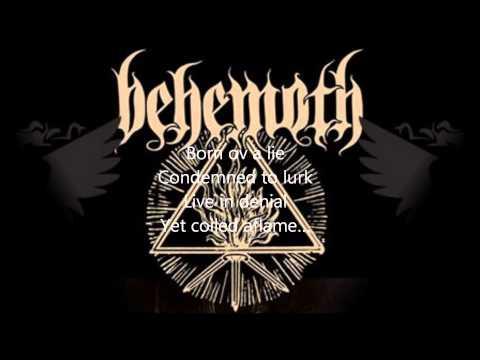 Behemoth- The satanist (LYRICS)
