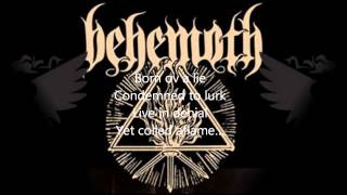 Behemoth- The satanist (LYRICS)