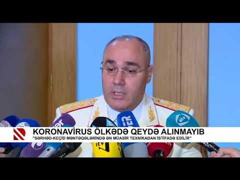 """""""Sərhəd keçid məntəqələrində ən müasir texnikadan istifadə edilir"""" (Real TV)"""