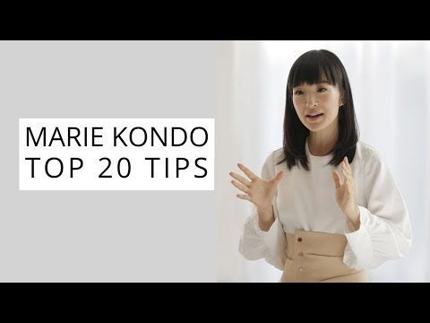 TOP 20 MARIE KONDO TIPS for Tidying Up and Decluttering | A Small Wardrobe