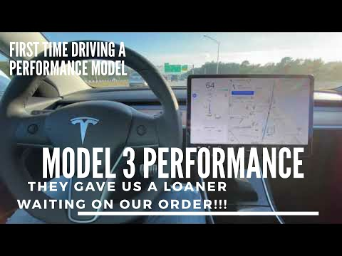 Tesla Model 3 | Part 2 The Waiting Game BUT Got A PERFORMANCE Loaner!!!