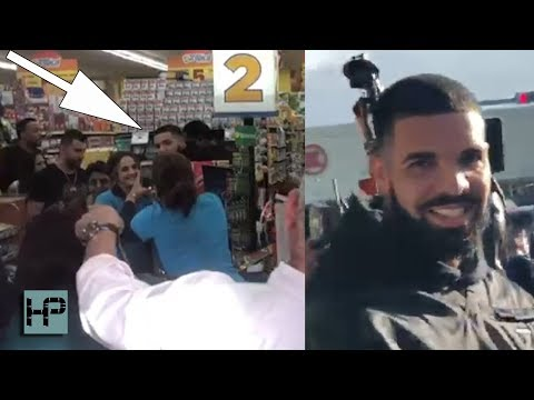 WOW!! Drake Drops THOUSANDS Buying Groceries for Strangers