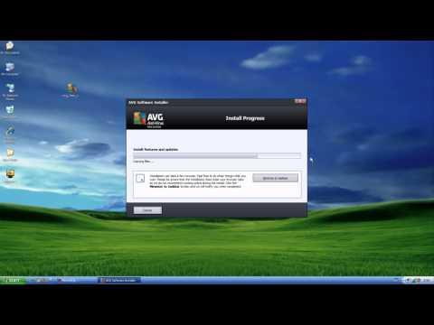 สอนติดตั้งโปรแกรม AVG antivirus 2012