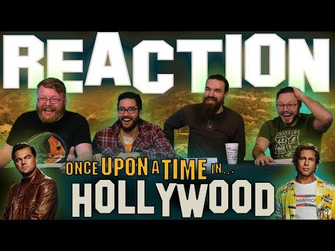 Once Upon A Time In Hollywood - MOVIE REACTION!!