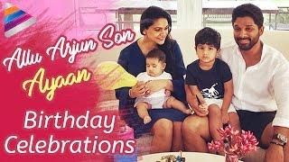 Allu Arjun Son Ayaan Birthday Celebrations in Goa | #HBDAlluAyaan | #AlluArjun | Telugu Filmnagar