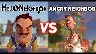 Hello Neighbor Vs Angry Neighbor