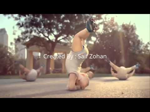 Funny  Dance on Hindi song with babies :D