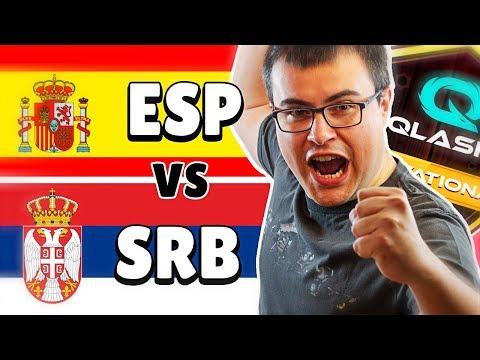 TEAM ESPAÑA (Alvaro845) vs TEAM SERBIA (SupremeNexus) | Qlash Brawl Stars Invitational | QBI #3