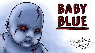 BABY BLUE CHALLENGE | Draw My Life