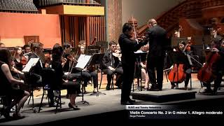 Tommy Nakashima Performs with Syracuse University Symphony Orchestra